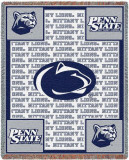 Penn State University, Nittany Lions Throw Blanket