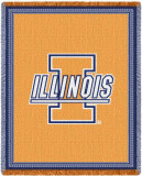 Universidade de Illinois Throw Blanket