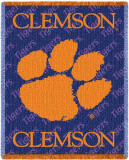 Clemson University Throw Blanket
