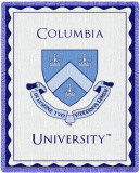 Columbia University, Crest Throw Blanket