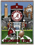 University of Alabama, Stadium Throw Blanket