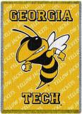 Georgia Tech Throw Blanket