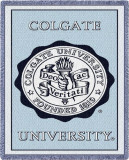 Colgate University, Seal Throw Blanket