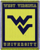 West Virginia University, Logo Throw Blanket
