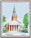 Wake Forest University, Chapel Throw Blanket