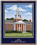 College of New Jersey, Green Hall Throw Blanket