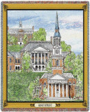 Wake Forest University, Collage Throw Blanket