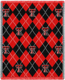 Texas Tech University, Plaid Throw Blanket