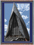 US Air Force Acedemy, Chapel Throw Blanket