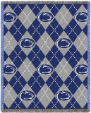 Penn State University, Plaid Throw Blanket
