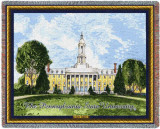 Penn State University, Old Main Throw Blanket
