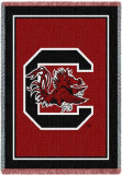 University of South Carolina Throw Blanket