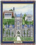 University of Michigan, Collage Throw Blanket