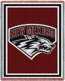 University of New Mexico Throw Blanket