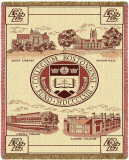 Boston College, Seal Throw Blanket