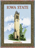 Iowa State University, Campanile Throw Blanket