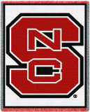 North Carolina State University, Logo White Throw Blanket