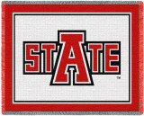 Arkansas State University Throw Blanket