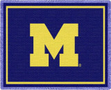 Universidad de Michigan Throw Blanket