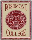 Rosemont College Throw Blanket