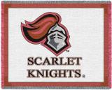 Rutgers University, Scarlet Knight Throw Blanket