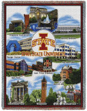 Iowa State University, Collage Throw Blanket