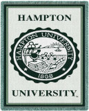 Universidade de Hampton Throw Blanket