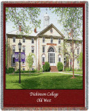 Dickinson College, Old West Throw Blanket
