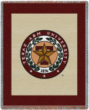 Texas A&M University, Seal Throw Blanket