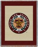 Texas A&M University, Seal Throw Blanket