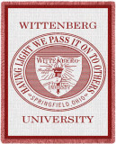 Wittenberg University, Seal Throw Blanket