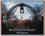 Universidade de Rutgers Throw Blanket