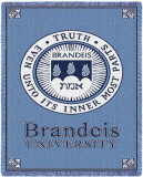 Brandeis University Throw Blanket