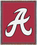 University of Alabama, A Logo Throw Blanket