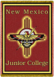 New Mexico Jr College, Logo Throw Blanket