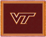 Virginia Tech, Initials Throw Blanket
