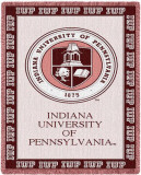 Indiana University of Pennsylvania Throw Blanket