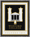 Wofford College Throw Blanket