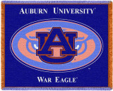 Auburn University, Tiger Logo Throw Blanket