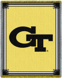 Georgia Tech Throw Blanket