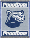 Penn State University, Lion Head Logo Throw Blanket
