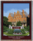 Gannon University, Old Main Throw Blanket