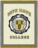 Bryn Mawr College, Seal Throw Blanket
