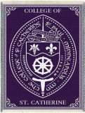 College of St. Catherine, Seal Throw Blanket
