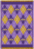 James Madison University, Plaid Throw Blanket