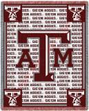 Texas A&M University, Go Aggies Throw Blanket