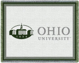 Ohio University, Logo Throw Blanket