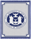 State University of New York Institute of Technology Throw Blanket