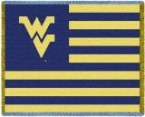 West Virginia University Throw Blanket