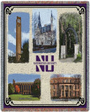 Northwestern University, Collage Throw Blanket